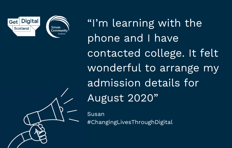 Changing Lives Through Digital: Susan's story