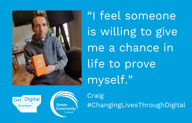 Changing Lives Through Digital: Craig's story